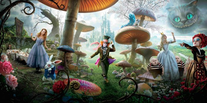 "Veja pôsteres e mais detalhes sobre ""Alice Through the Looking Glass"""