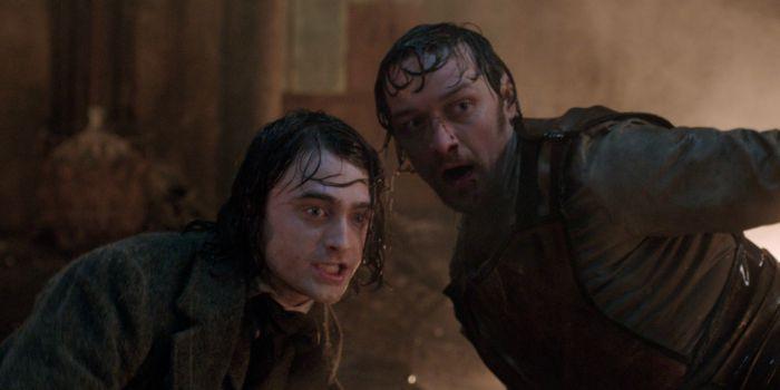 "Veja James McAvoy e Daniel Radcliffe no trailer de ""Victor Frankenstein"""