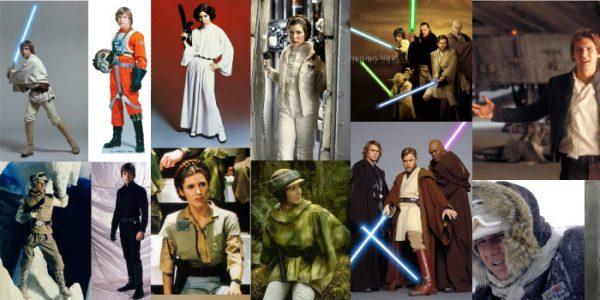 O design de Star Wars – figurinos de uma galáxia distante