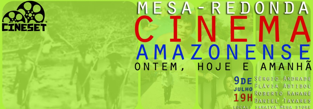 Cinema no Amazonas será tema de evento do Cine Set na Livraria Saraiva