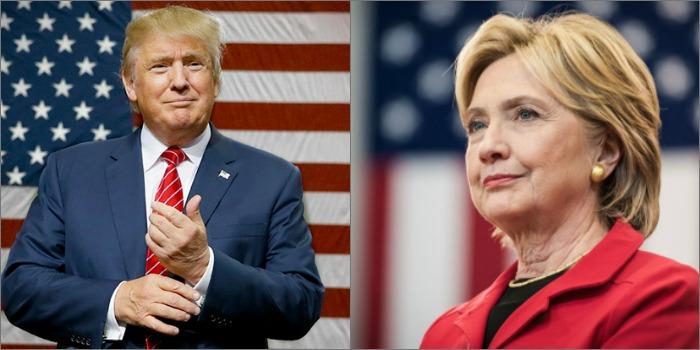 Donald Trump x Hillary Clinton: eleição divide Hollywood em três