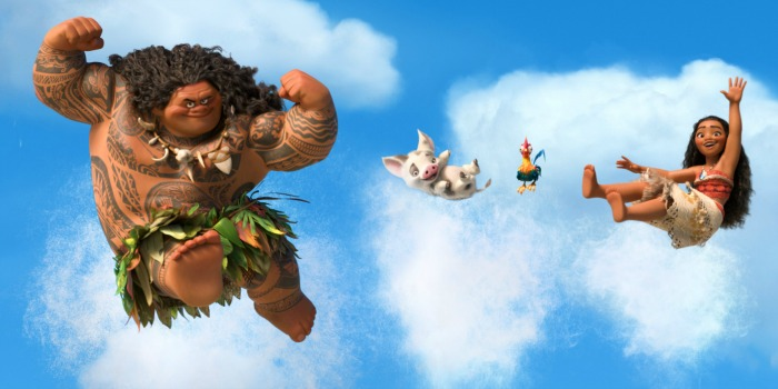 'Moana' tira 'Animais Fantásticos' do topo das bilheterias dos EUA