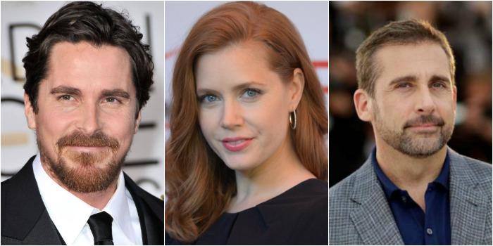 Diretor de 'A Grande Aposta' pode ter Christian Bale, Amy Adams e Steve Carell em novo filme