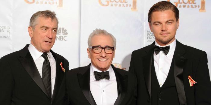 Martin Scorsese deve reunir Robert De Niro e Leonardo DiCaprio em novo filme