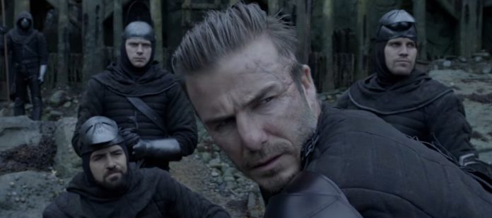 """Diretor de 'Rei Arthur' diz que David Beckham é """"ótimo na tela"""""""