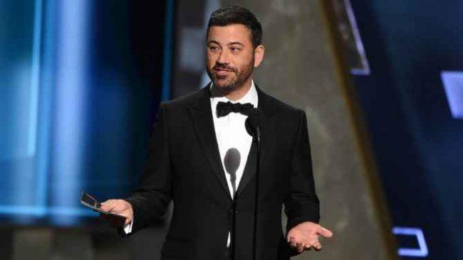 Jimmy Kimmel volta a apresentar o Oscar em 2018