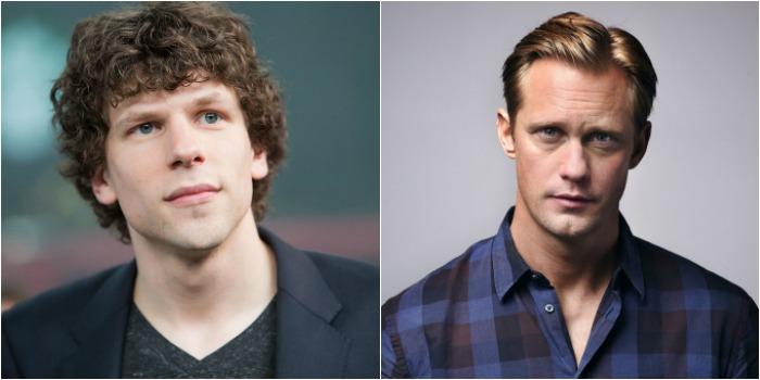 Jesse Eisenberg e Alexander Skarsgard serão protagonistas de 'The Hummingbird Project'