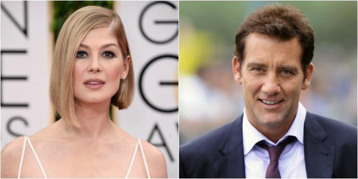 Rosamund Pike e Clive Owen serão protagonistas de filme de ação