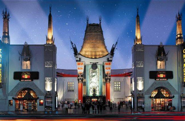 Cinema mais famoso do mundo, Teatro Chinês de Hollywood completa 90 anos
