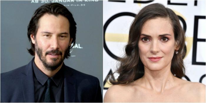 Keanu Reeves e Winona Ryder serão protagonistas de comédia romântica