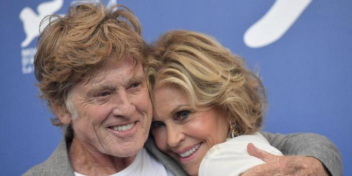 Jane Fonda fala sobre as cenas de sexo com Robert Redford em 'Nossas Noites'