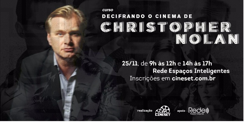 Cine Set abre inscrições do curso 'Decifrando o Cinema de Christopher Nolan'