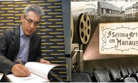 Livro de Durango Duarte retrata história dos cinemas de rua em Manaus