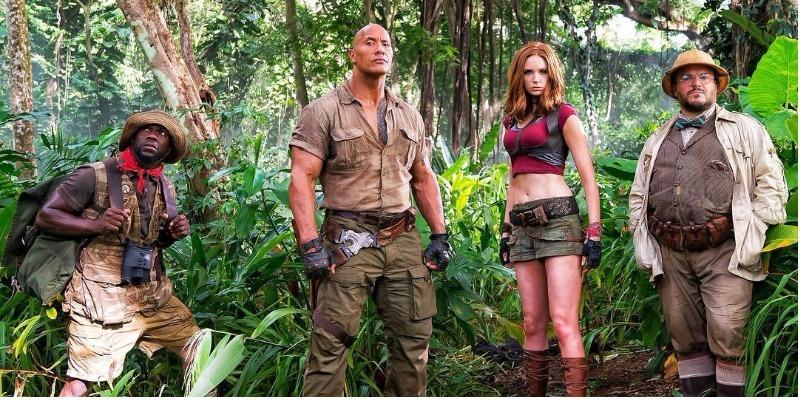 'Jumanji – Bem-Vindo à Selva' tira 'Star Wars' do topo das bilheterias dos EUA