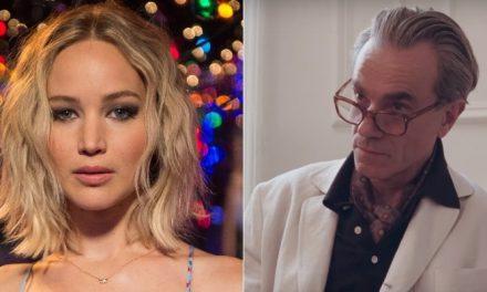 "Jennifer Lawrence detona 'Trama Fantasma': ""vi apenas três minutos"""