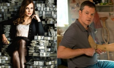Novos filmes de Jessica Chastain e Matt Damon são destaques nos cinemas de Manaus