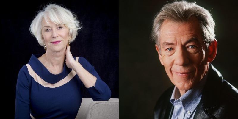 Helen Mirren e Ian McKellen serão estrelas do drama 'The Good Liar'