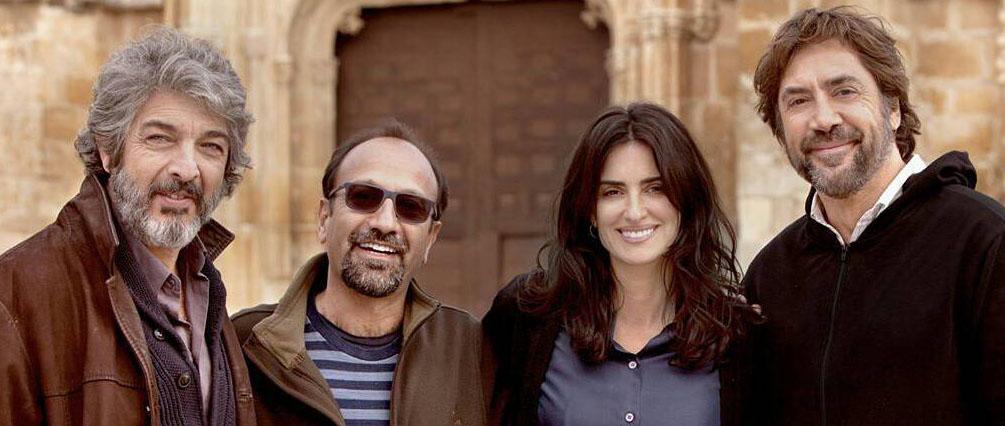 Ashgar Farhadi, Penélope Cruz e Javier Bardem abrem o Festival de Cannes 2018