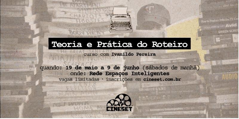 Cine Set abre inscrições para novo curso de roteiro em Manaus