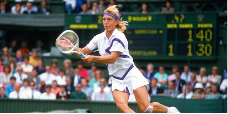 Reese Witherspoon produz documentário sobre a tenista Martina Navratilova