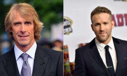 Netflix fecha acordo para filme com Michael Bay e Ryan Reynolds