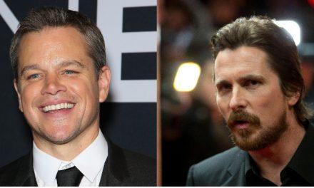 Rivalidade Ferrari/Ford com Matt Damon e Christian Bale ganha data de estreia nos cinemas