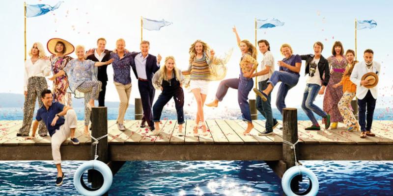 Trilha sonora de 'Mamma Mia 2' lidera listas de vendas no Reino Unido