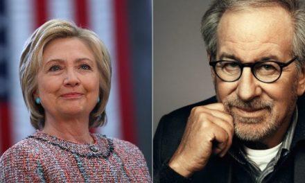 Hillary Clinton e Steven Spielberg fecham parceria para projeto na TV americana