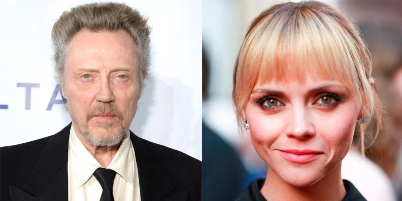 Christopher Walken e Christina Ricci serão estrelas de filme de tribunal