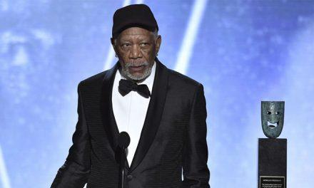 SAG decide manter prêmio honorário de Morgan Freeman após acusações