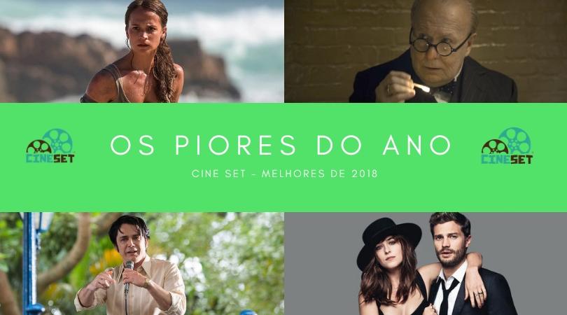 Cine Set elege o Pior Filme do Cinema de 2018