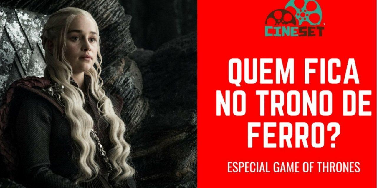Quem merece ficar com o Trono de Ferro: Cersei, Jon Snow ou Daenerys?