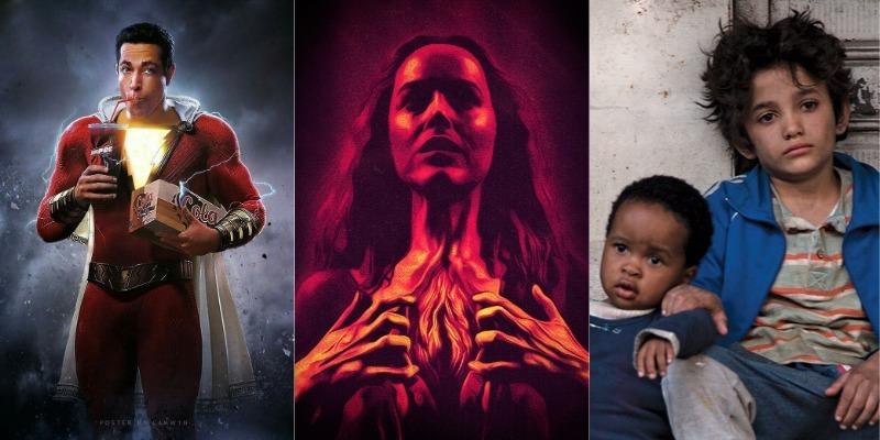 'Shazam', 'Suspiria' e 'Cafarnaum' são atrações em fim de semana eclético nos cinemas de Manaus