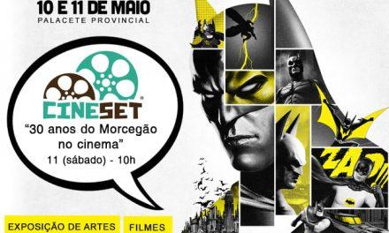 Cine Set debate 30 anos do 'Batman' nos cinemas neste sábado em Manaus