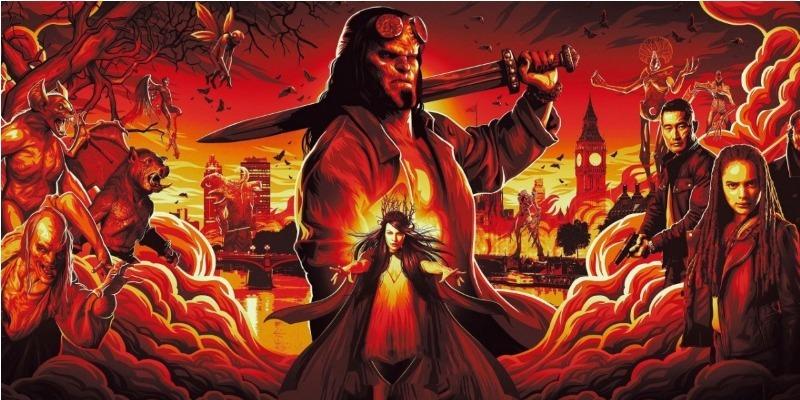 'Hellboy': reboot ruim digno de uma bomba cinematográfica