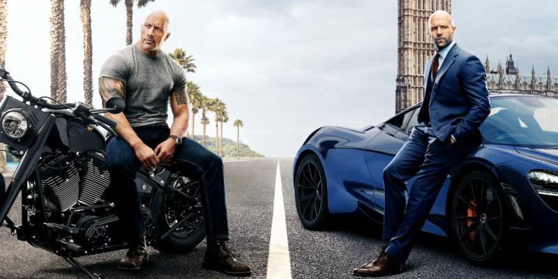 'Hobbs & Shaw' domina cinemas de Manaus neste fim de semana
