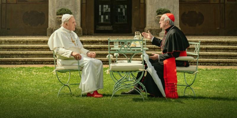 'Dois Papas': Anthony Hopkins e Jonathan Pryce em atuações abençoadas