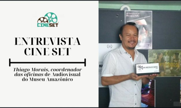 Thiago Morais e as oficinas de audiovisual do Museu Amazônico