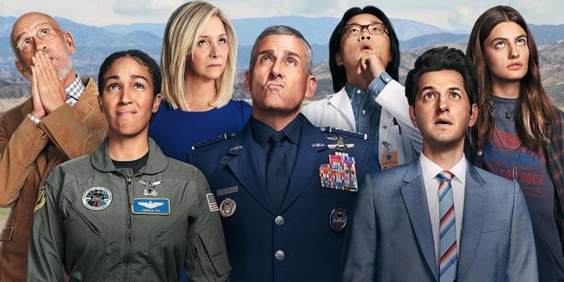'Space Force': nem tão empolgante e engraçado como prometido