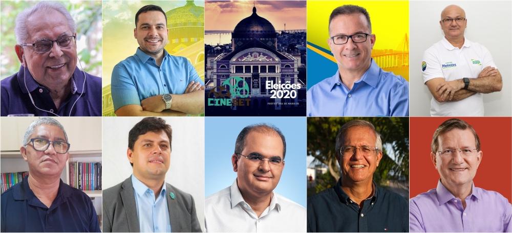 Cine Set entrevista candidatos à Prefeitura de Manaus sobre setor cultural