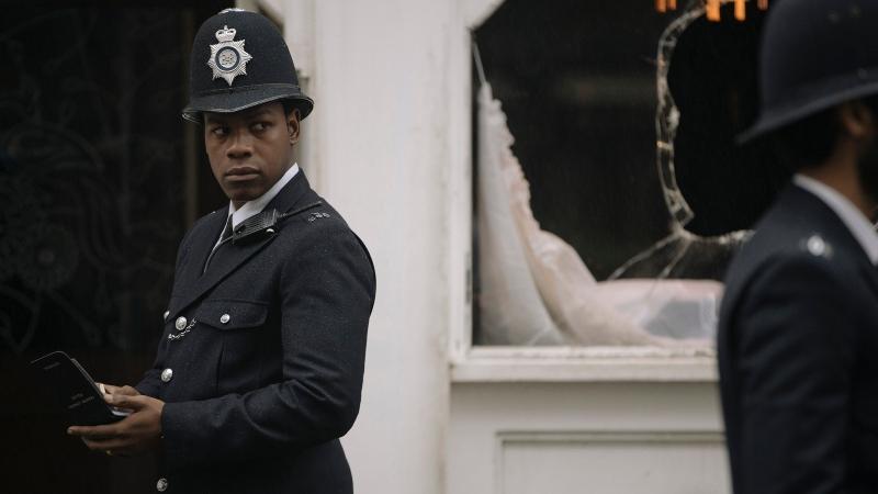 'Small Axe: Vermelho, Branco e Azul': Boyega contra o racismo policial inglês