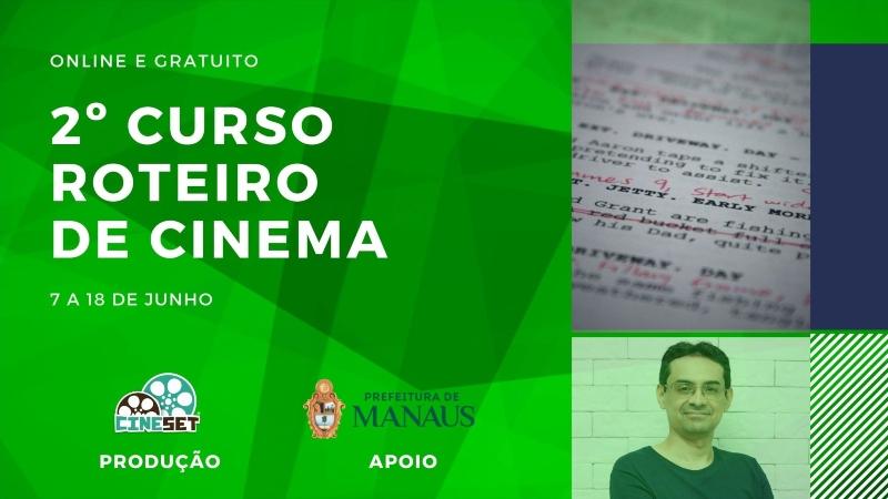 Cine Set abre nova turma para curso online e gratuito de roteiro de cinema