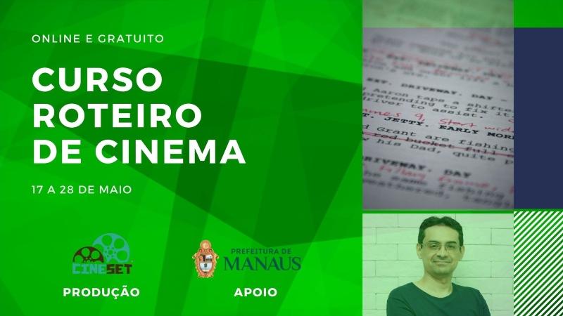 Cine Set realiza curso online e gratuito de roteiro de cinema em maio