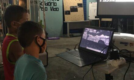 Poemas são transformados em videoartes em projeto na zona norte de Manaus