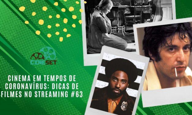 Cinema em Tempos de Coronavírus: Dicas de Filmes no Streaming #63