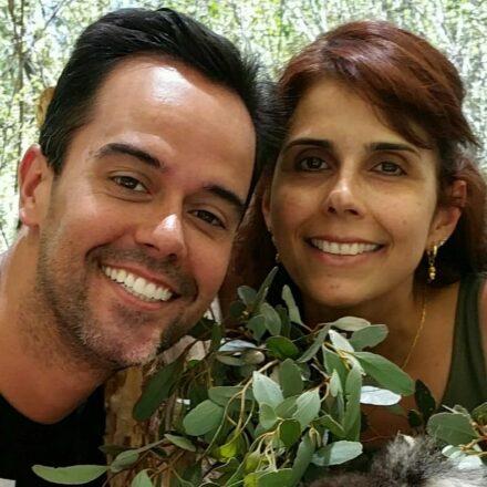 Bruno e Vanessa Cury