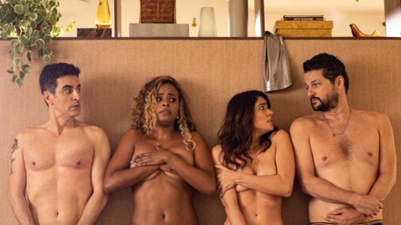 Remake de sucesso argentino, 'Dois + Dois' aborda swing com mais romance e menos sexo